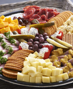 Pastries, Cheese and Cold Meat Platters